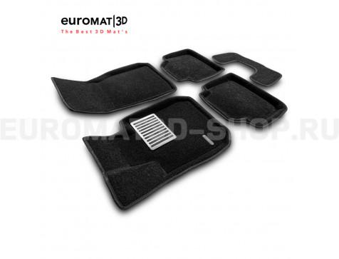 Текстильные 3D коврики Euromat3D Lux в салон для Bmw 3 (F30) (2010-2018) № EM3D-001202