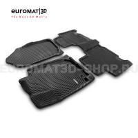 3D коврики Euromat3D EVA в салон для Toyota Rav 4 (2013-2019) № EM3DEVA-005125